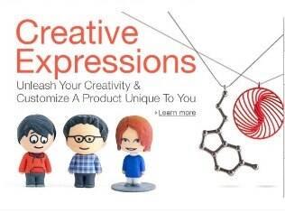 Amazon vende bonecos e outros objetos impressos em 3D