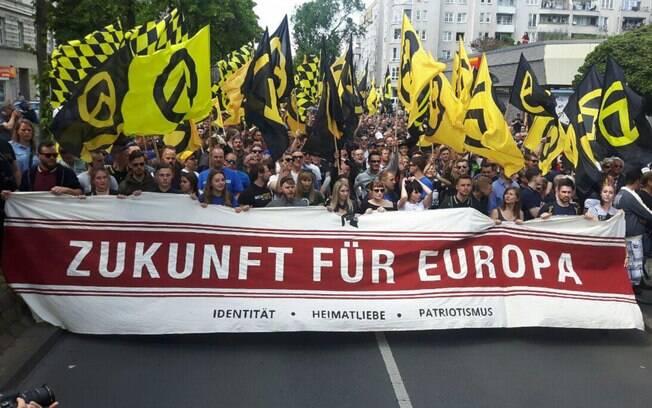 Protesto Extrema Direita Alemanha