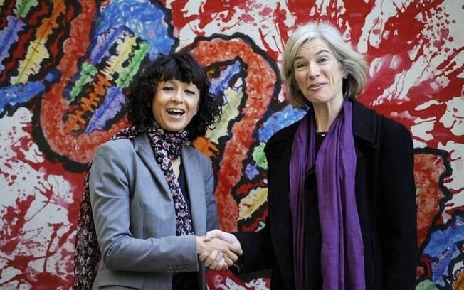 A microbióloga francesa Emmanuelle Charpentier e a professora Jennifer Doudna venceram o Nobel de Química