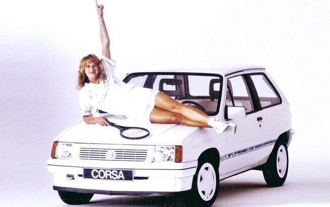 Opel Corsa Steffi Graf Special foi feito em homenagem à campeã alemã de tênis e medalha de ouro nos Jogos Olímpicos de Seul, em 1988