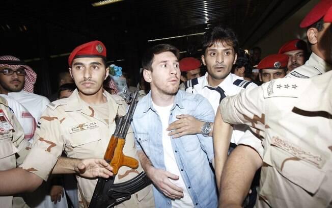 Messi na Arábia Saudita