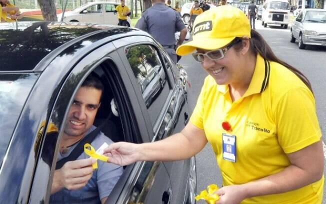 Maio Amarelo ajuda na prevenção de acidentes e diminuição de mortes no trânsito desde 2014