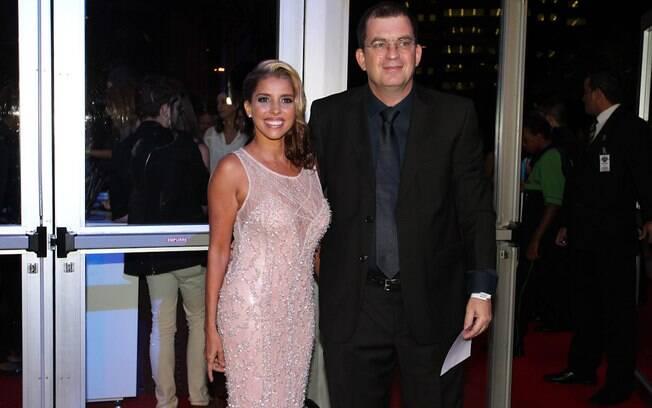 Paula Pereira é casada com o diretor de novelas Marcos Schechtman