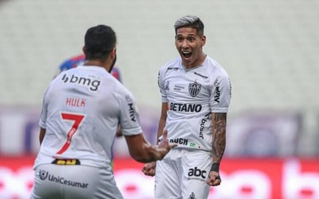 Com jogo seguro, Galo derrota o Fortaleza no Castelão e segue firme na liderança do Brasileirão