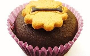Muffin de alfarroba e gengibre