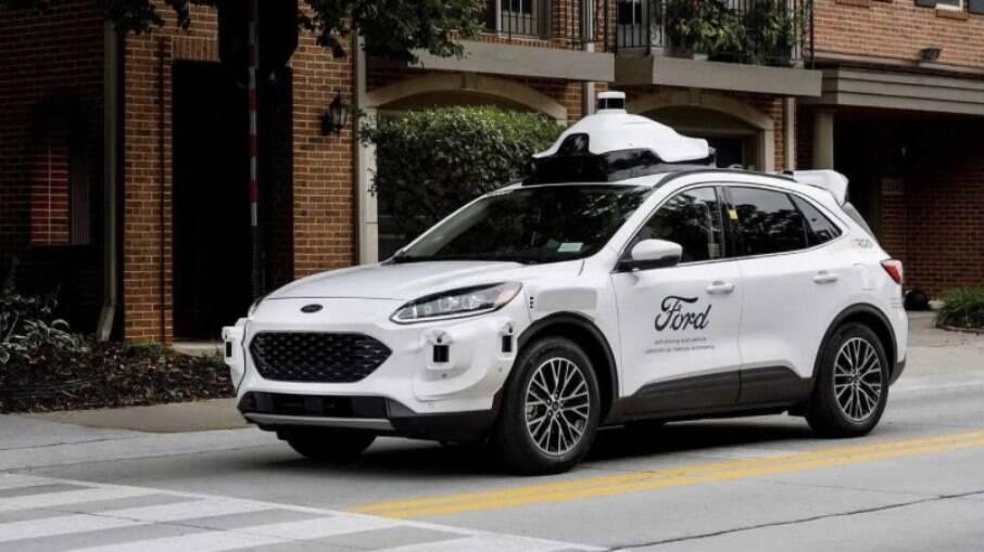 Ford autõnomo que será lançado nos EUA em 2022, baseado no SUV Escape Hybrid