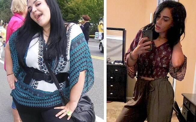 Depois de perder peso, a jovem detalha o que faz para conseguir mantê-lo e, ainda, inspira outras pessoas com sua história
