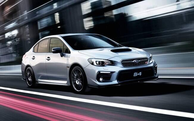 Subaru WRX STI S4: Quem não quer aparecer com os rodões, aerofólio enorme e outros do STI