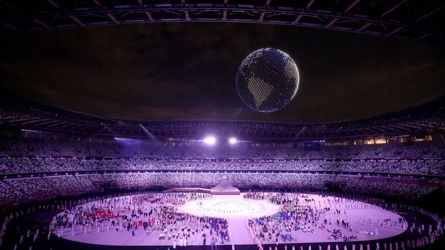 Cerimônia de abertura dos Jogos Olímpicos de Tóquio