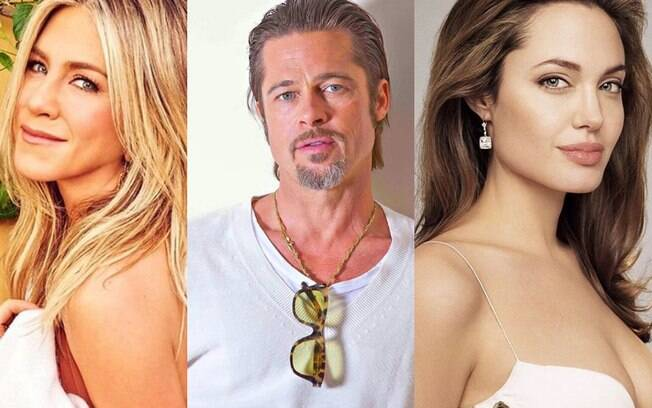 Brad Pitt traiu Jennifer Aniston com Angelina Jolie