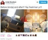 Meninas arrumam quarto da faculdade de forma incrível