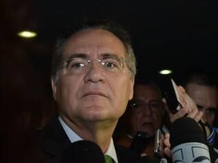 Renan Calheiros disse ainda esperar que a presidente