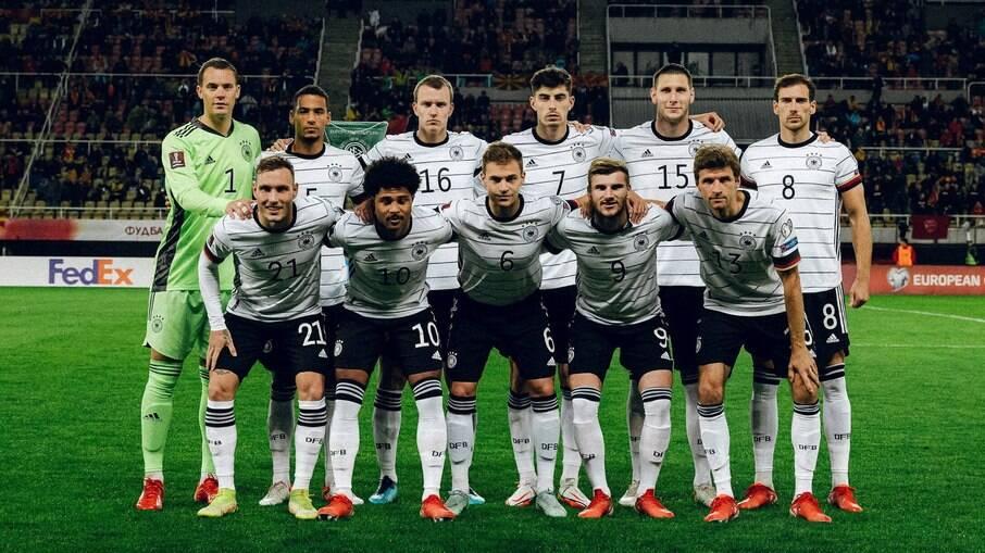 Alemanha garante vaga na Copa do Mundo de 2022