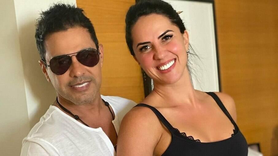 Graciele Lacerda e Zezé Di Camargo adiam planos de gravidez