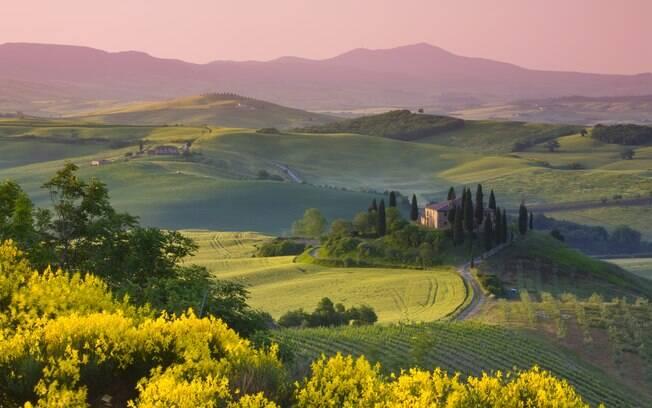 A Toscana é uma das regiões mais procuradas pelos enoturistas