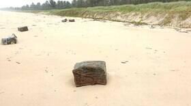 Caixas encontradas em praias eram de navios nazistas