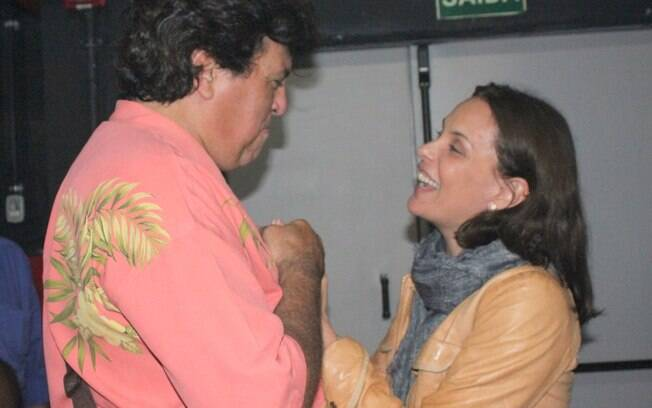Sidney Magal e Carolina Ferraz