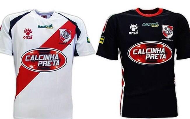 O clube brasileiro River Plate, de Sergipe, já foi patrocinado pela banda de forró