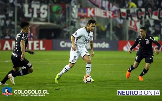 Colo-Colo de Valdivia venceu o Corinthians no jogo de ida das oitavas de final da Libertadores