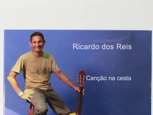 """Disco. """"Canções na Cesta"""" reúne 11 faixas autorais do compositor mineiro Ricardo dos Reis"""