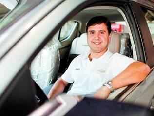 Esforço. Cláudio Garcia, da Jorlan Chevrolet, disse que as taxas e condições são melhores se a entrada for com um valor maior