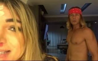Theo Becker finge agredir esposa em vídeo publicado no YouTube