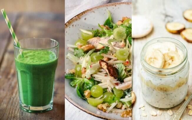 Receitas simples podem ajudar a manter a dieta por serem práticas e também muito saborosas