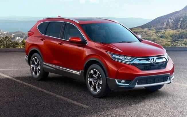 Na nova geração, o Honda CR-V passa a contar com motores 2.0 turbo