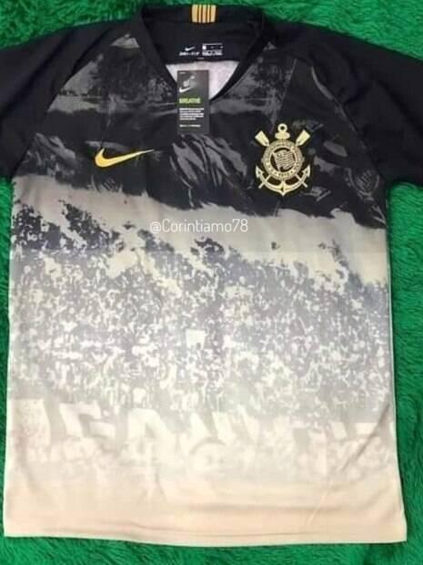 Suposto terceiro uniforme do Corinthians