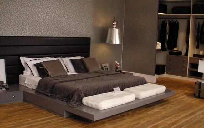 Como Decorar Um Quarto Casal Moderno ~ conferem beleza e eleg?ncia O quarto do casal ainda aposta em um