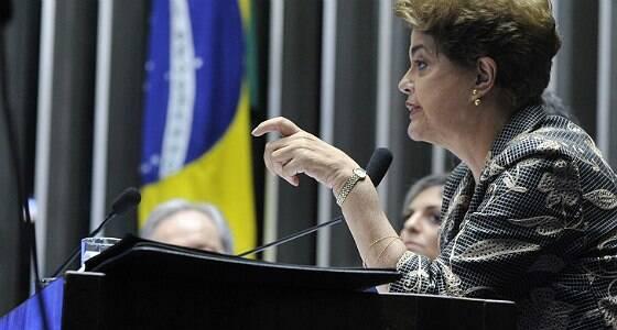 Respeito às urnas está em jogo, diz Dilma no Senado
