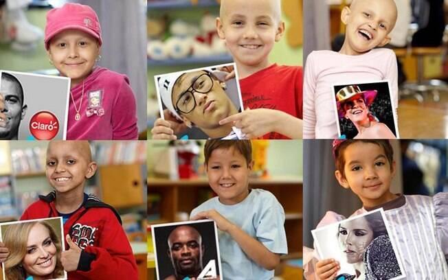 Famosos cedem seus perfis no  Twitter por um dia para crianças com câncer
