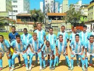 Recanto Azul.  Equipe juvenil está na disputa da Copa Governador