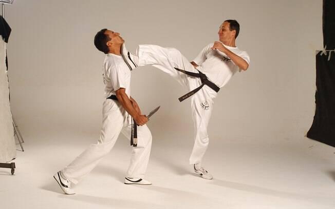 Técnicas de Krav Magá servem para defesa pessoal