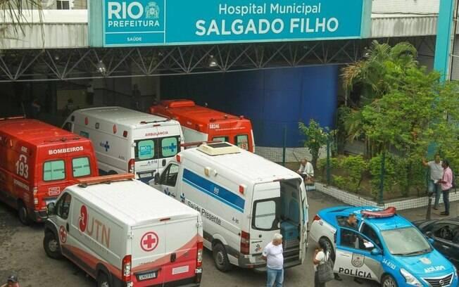 Menino foi socorrido, mas acabou morrendo no Hospital Salgado Filho