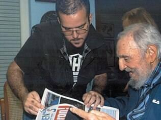 Última imagem de Fidel era de entrevista dada em 23 de janeiro