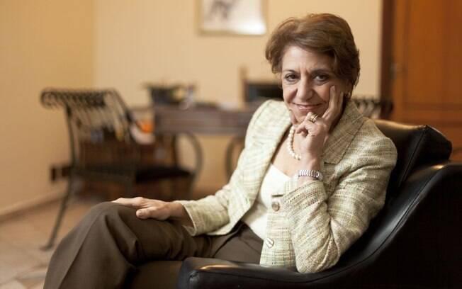 A psiquiatra Carmita Abdo em seu consultório