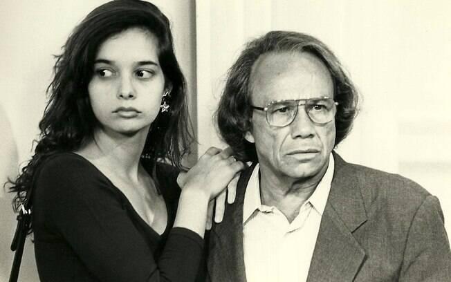 Stênio Garcia interpretou o pai de Daniella Perez em 'De Corpo em Alma'