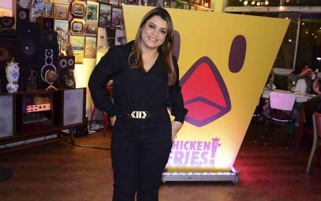 Preta Gil em evento da rede Burger King, nesta quarta-eira (22)