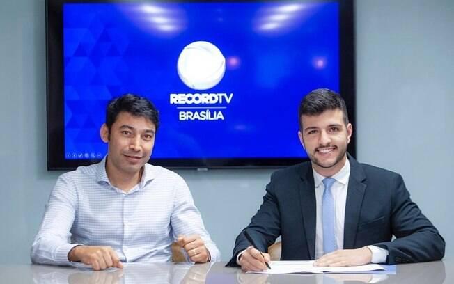 Matheus Ribeiro é o novo contratado da Record TV Brasília