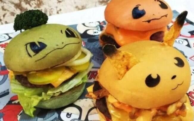 Rede de fast food lança sanduíches de Pokémon