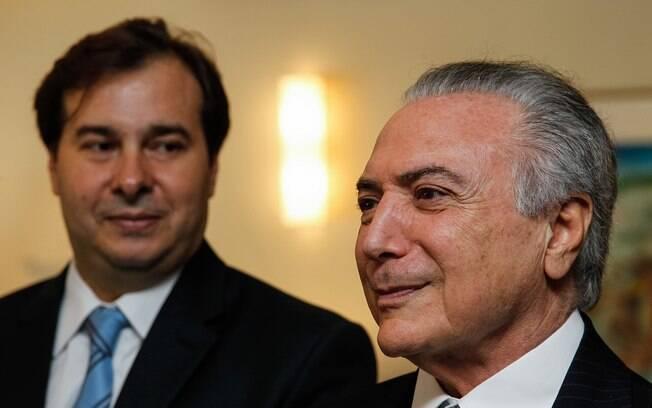 Maia tem se colocado como nome governista na disputa pela presidência da República