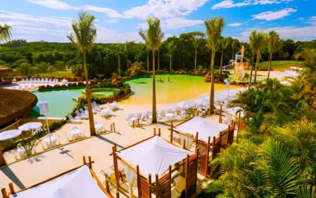 Mabu Thermas Grand Resort, em Foz do Iguaçu, tem várias atrações e é ideal para as famílias com crianças