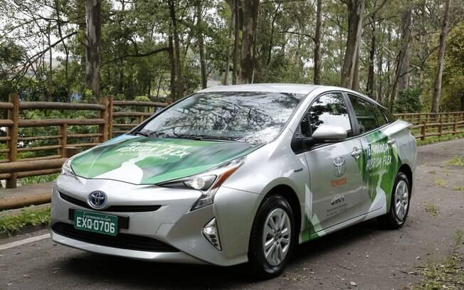 Toyota Prius Flex é um protótipo que está sendo desenvolvido no Brasil, com motor a combustão a etanol e outro elétrico