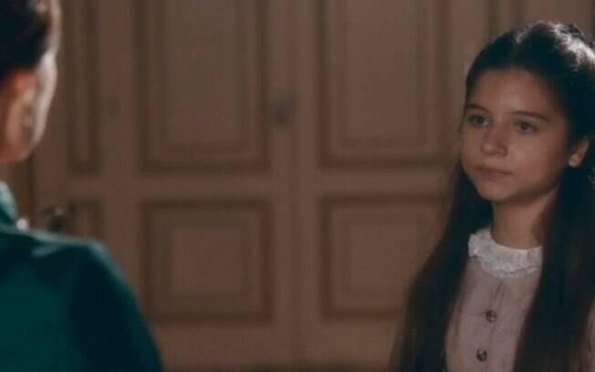"""Nos Tempos do Imperador – Leopoldina, após flagrar cena traumática de Pedro e Luisa, rejeita a amante: """"Ficaremos livres dela"""""""