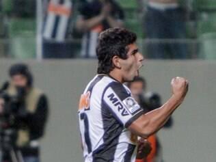 Guilherme fez o segundo gol do Atlético, que levou o time à disputa por pênaltis