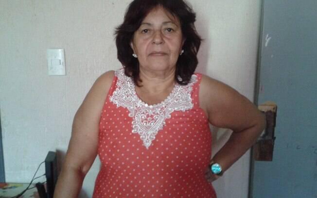 Gercina Maria da Silva, de 65 anos, perdeu a filha Jurema Cristiane