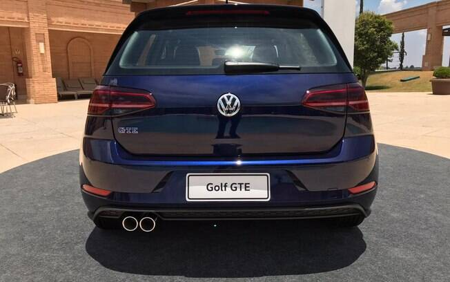 VW Golf GTE azul