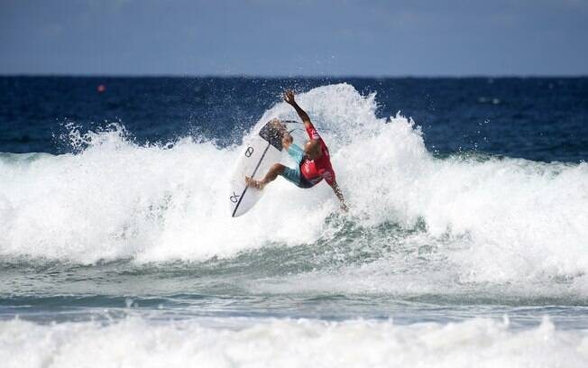 Kelly Slater durante etapa na Austrália