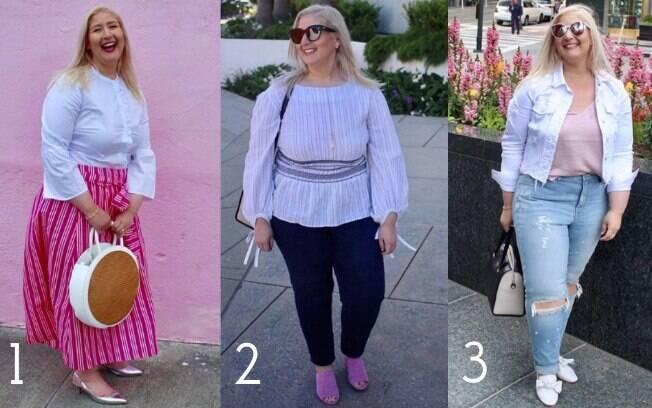 Kitten Heels (1), sandálias mule (2) e flats mule (3) são algumas das apostas de Jacqueline para não sair da moda